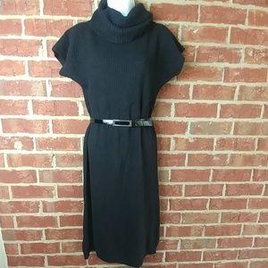 United Colors of Benetton black sweater dress